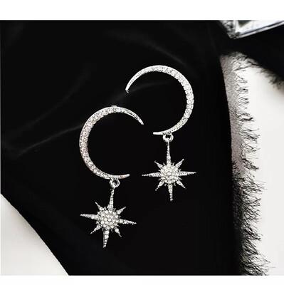 Celeste Earrings Silver