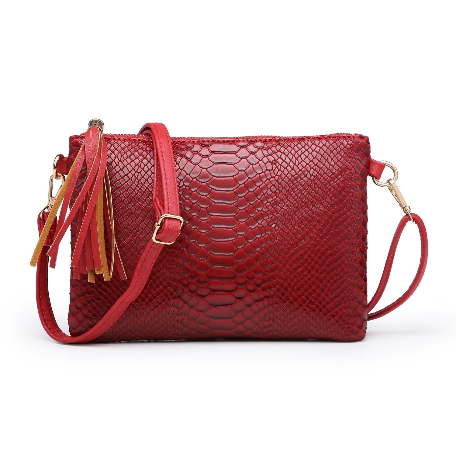 Maisie Clutch/Cross Body Bag Red