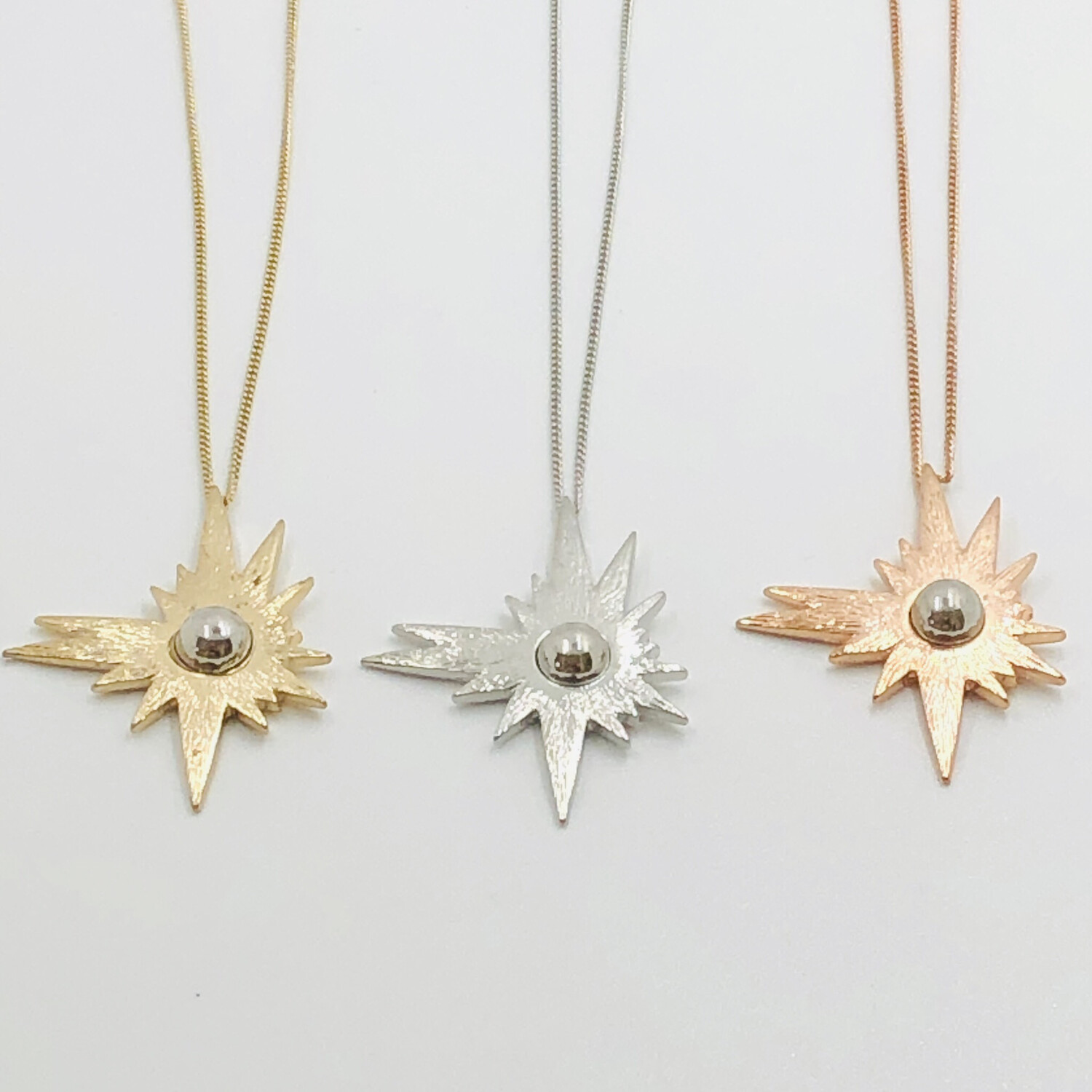 Flare Necklace Rose Gold