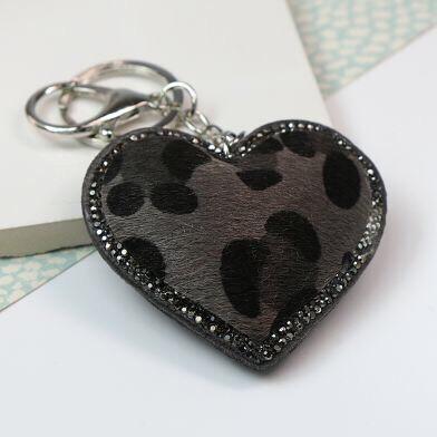 Heart Keyring/Bag Charm