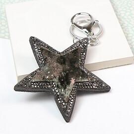 Star Keyring/Bag Charm