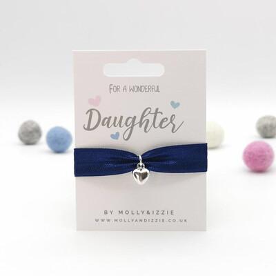 Daughter Stretch Charm Bracelet