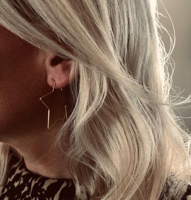 Superstar Earrings Gold