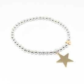 Karly Gold Star Bracelet