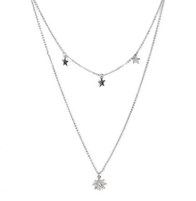 Sienna Necklace - Silver