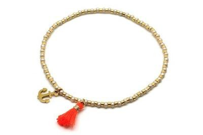 Stretch Anchor Bracelet