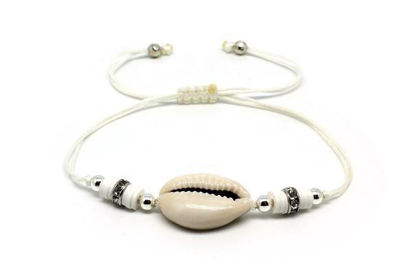 Twerk White Shell Bracelet