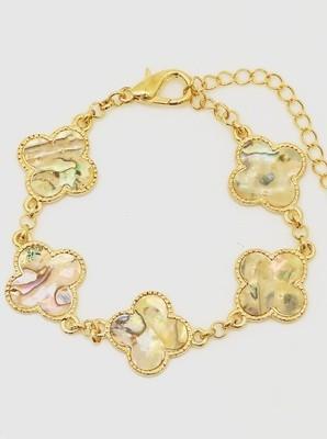 Clover Leaf Bracelet