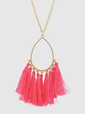 Hattie Tassel, Neon Pink