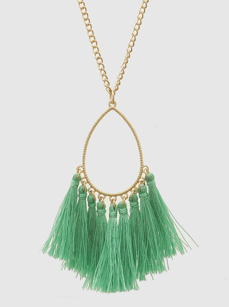 Hattie Tassel, Green
