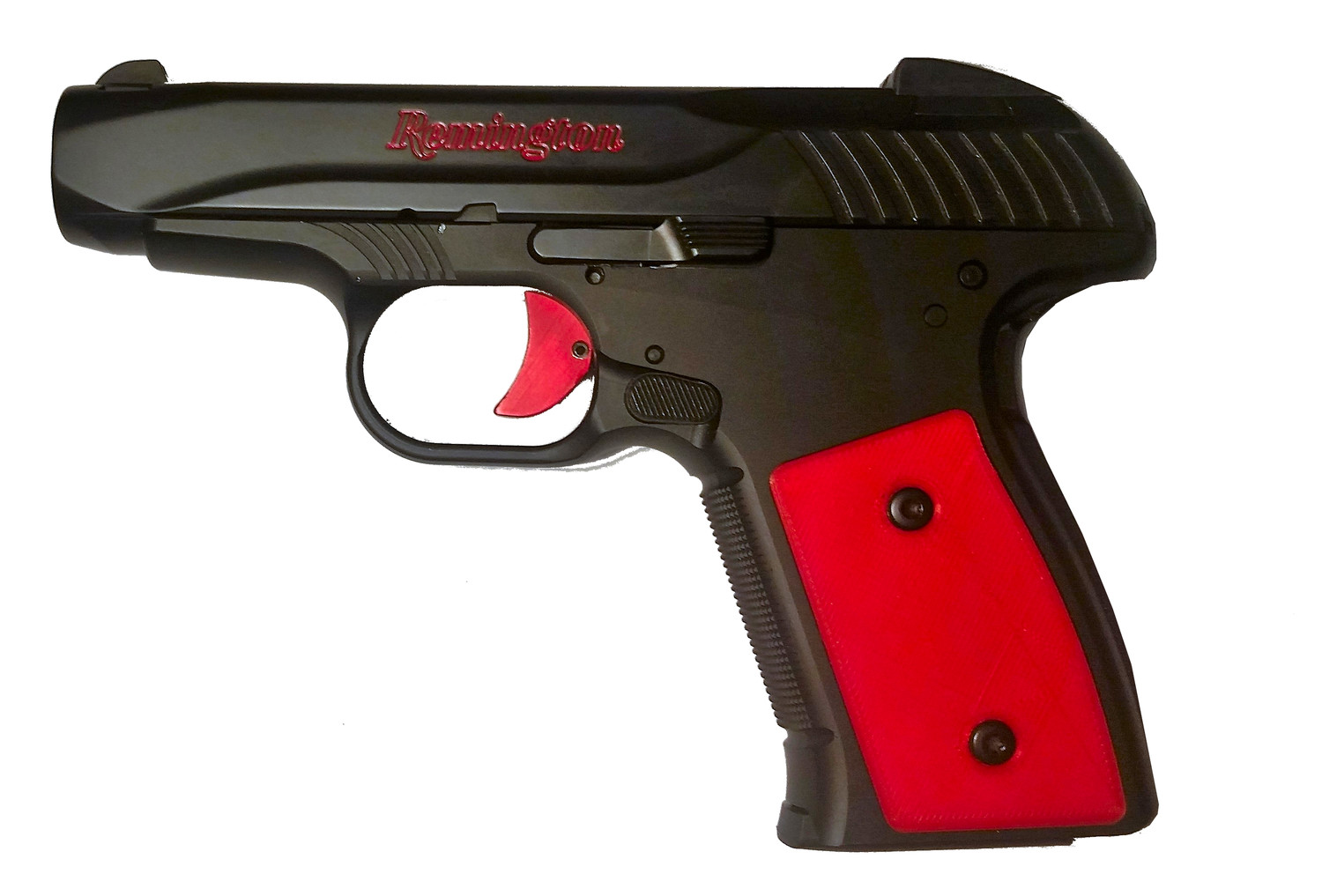 R51 Trigger Body, Slab, Red