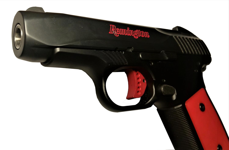 R51 Trigger Body, Skeletonized, Red