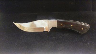 Handmade Knife _ Buffalo Horn handle - Full Tang - 4