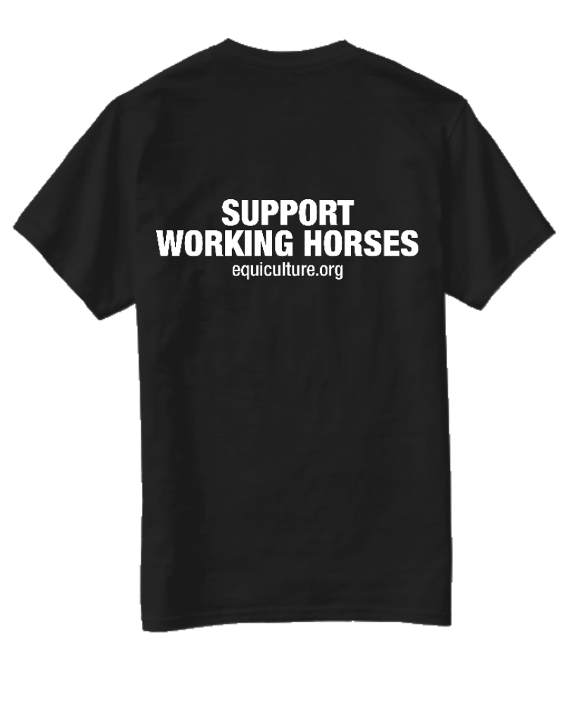 Support Working Horses Short Sleeve Tee