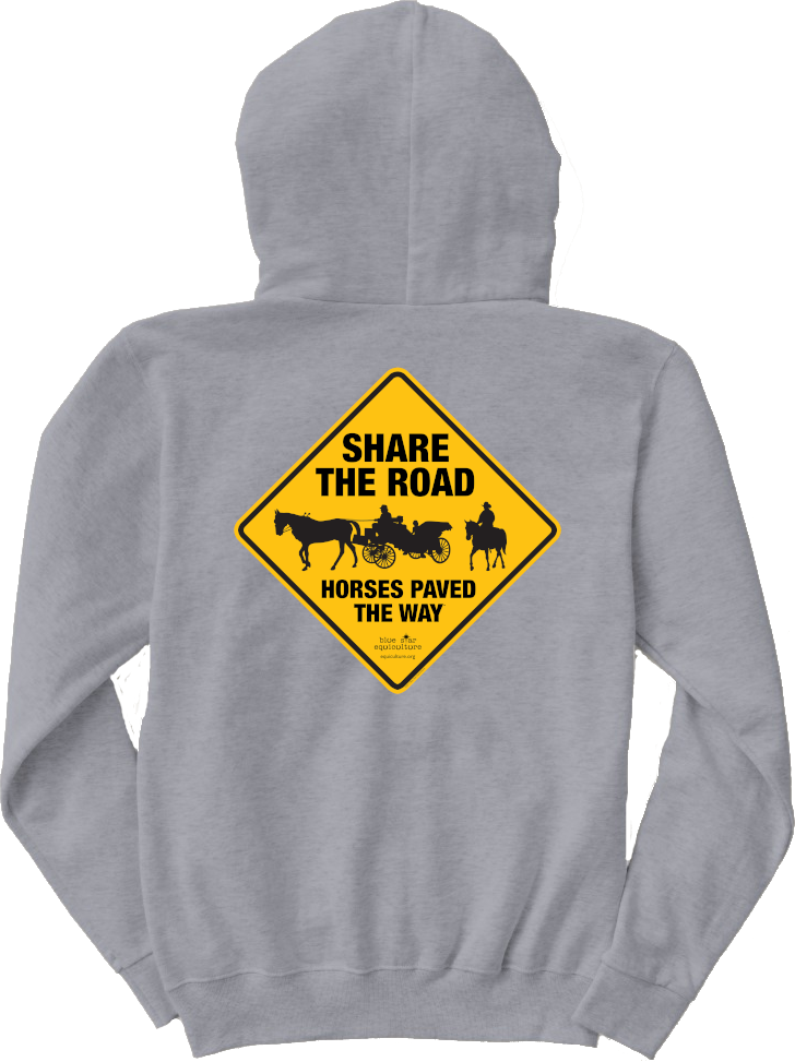 Share the Road Horses Paved the Way Hoodie