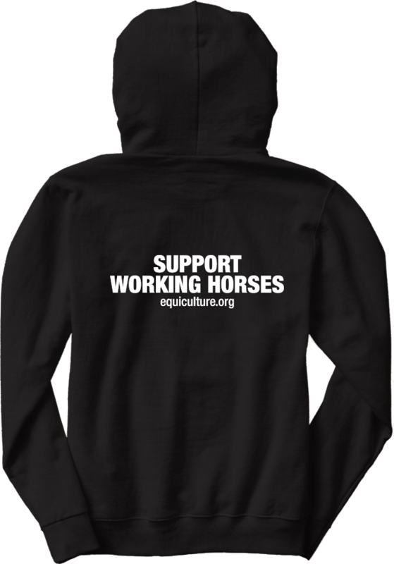 Support Working Horses Hoodie