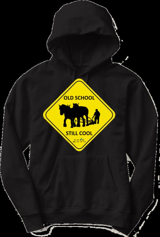 Old School Still Cool Hoodie