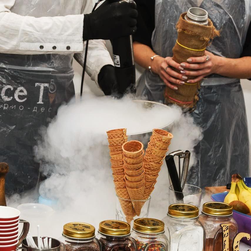 Мастер-класс по приготовлению мороженого