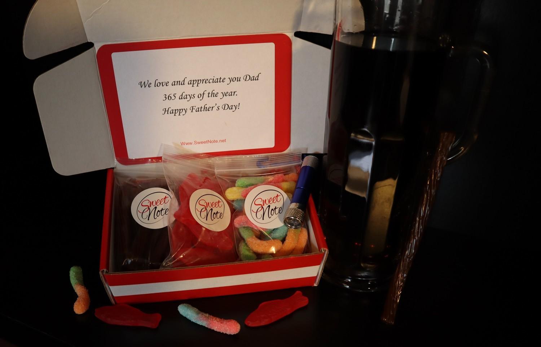 """Gone Fishing candy gift box"""