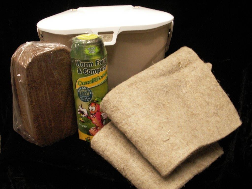 Composting Kit with FREE Kitchen Collector