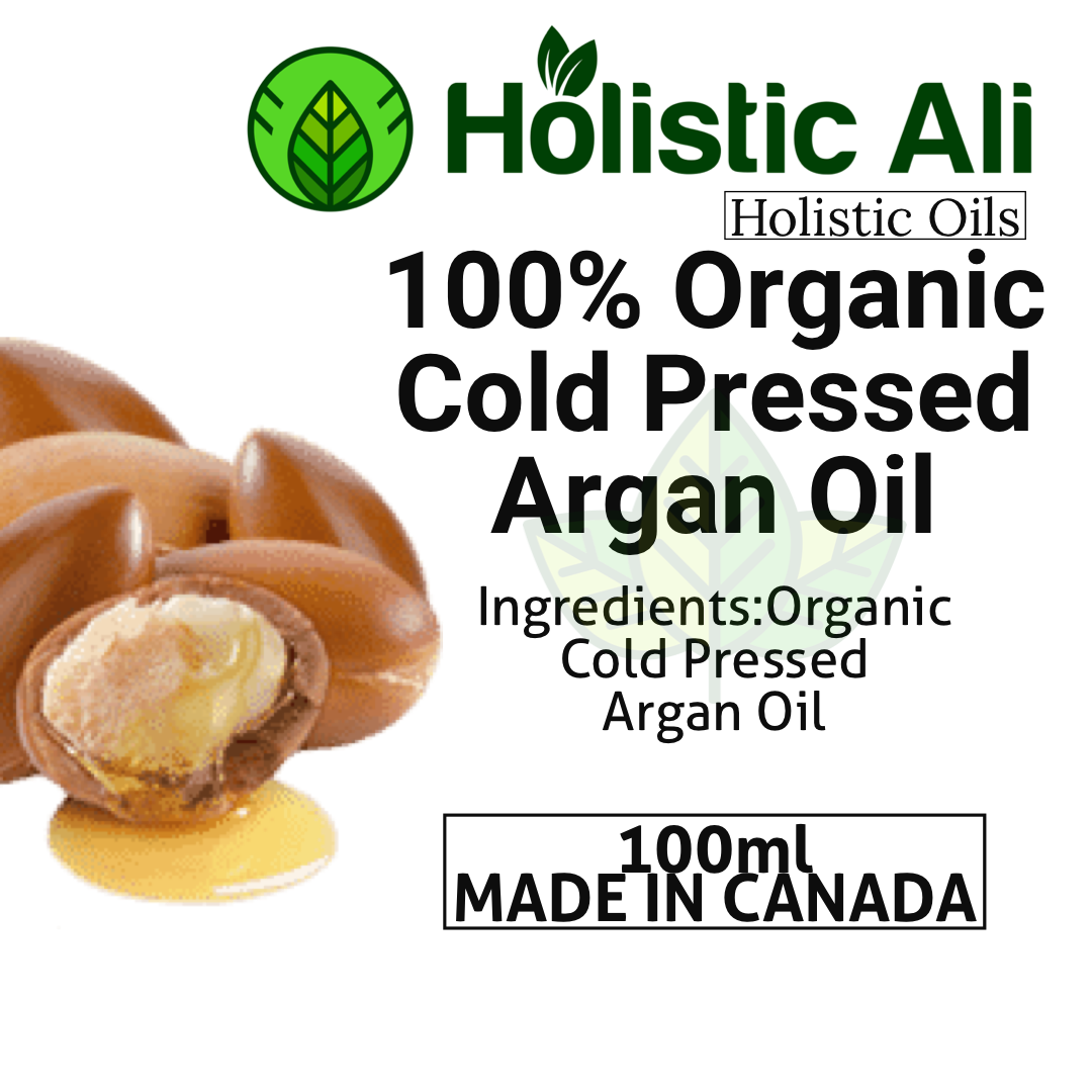 100ml Organic Cold Pressed Argan Oil