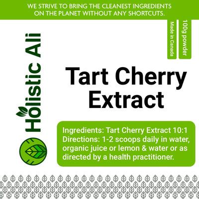 Tart Cherry 10x Extract 100g