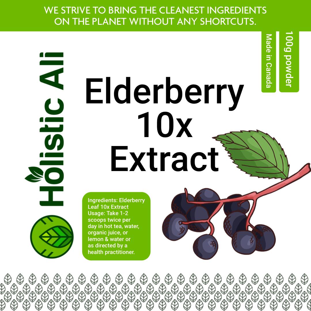 Elderberry 10x Extract 100g