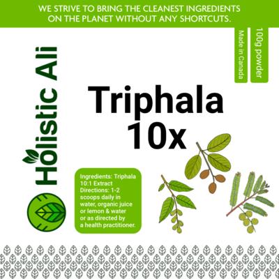 Triphala 10x Extract 100g