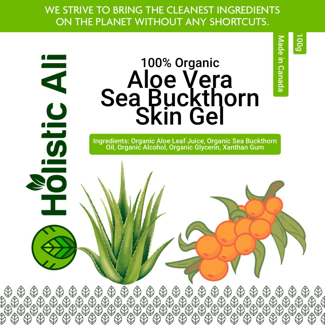 Organic Sea Buckthorn and Aloe Skin Gel 100g