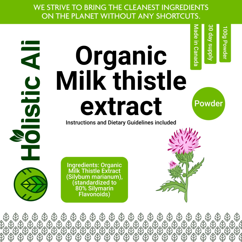 Milk Thistle Extract Powder 100g