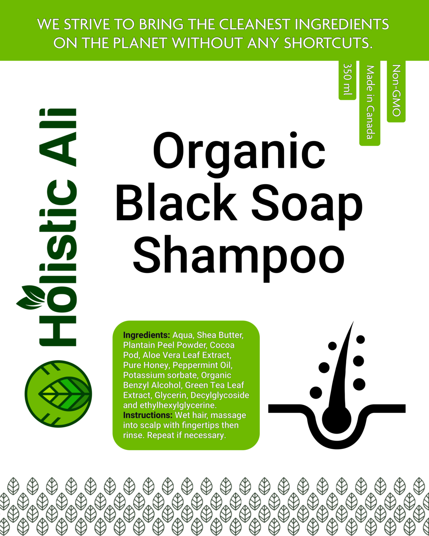 Organic Shea Shampoo 350ml Conditioner 350ml