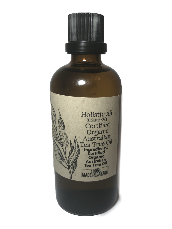 Certified Organic Tea Tree Oil 100ml