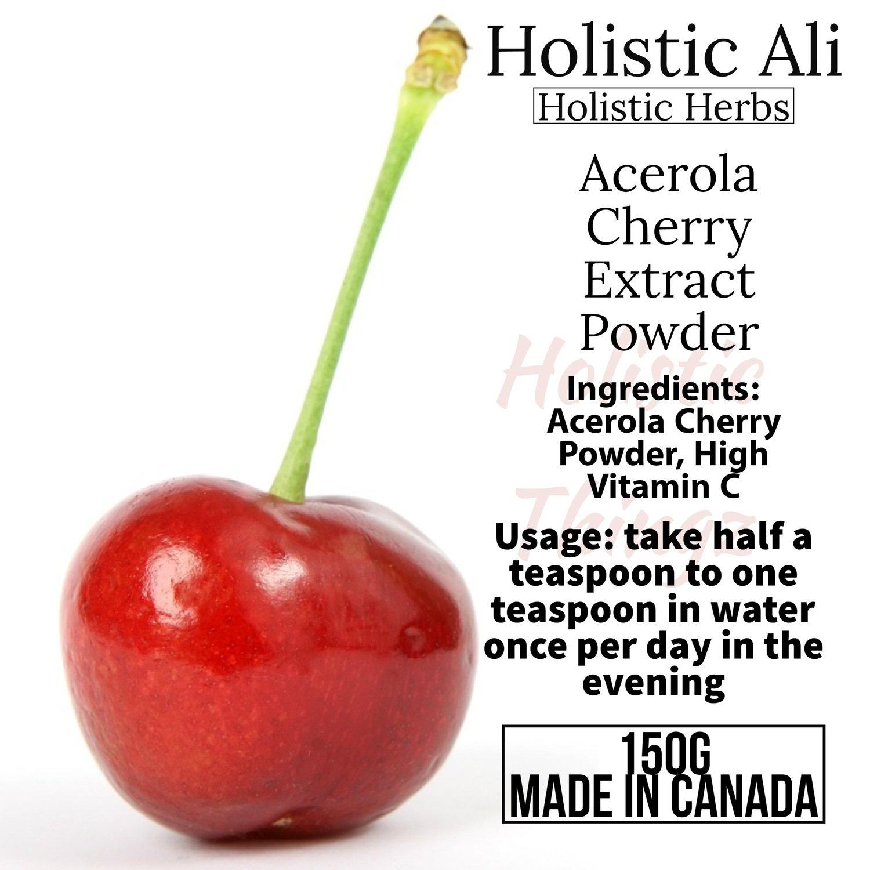 Acerola Cherry Powder 150g, Organically Grown