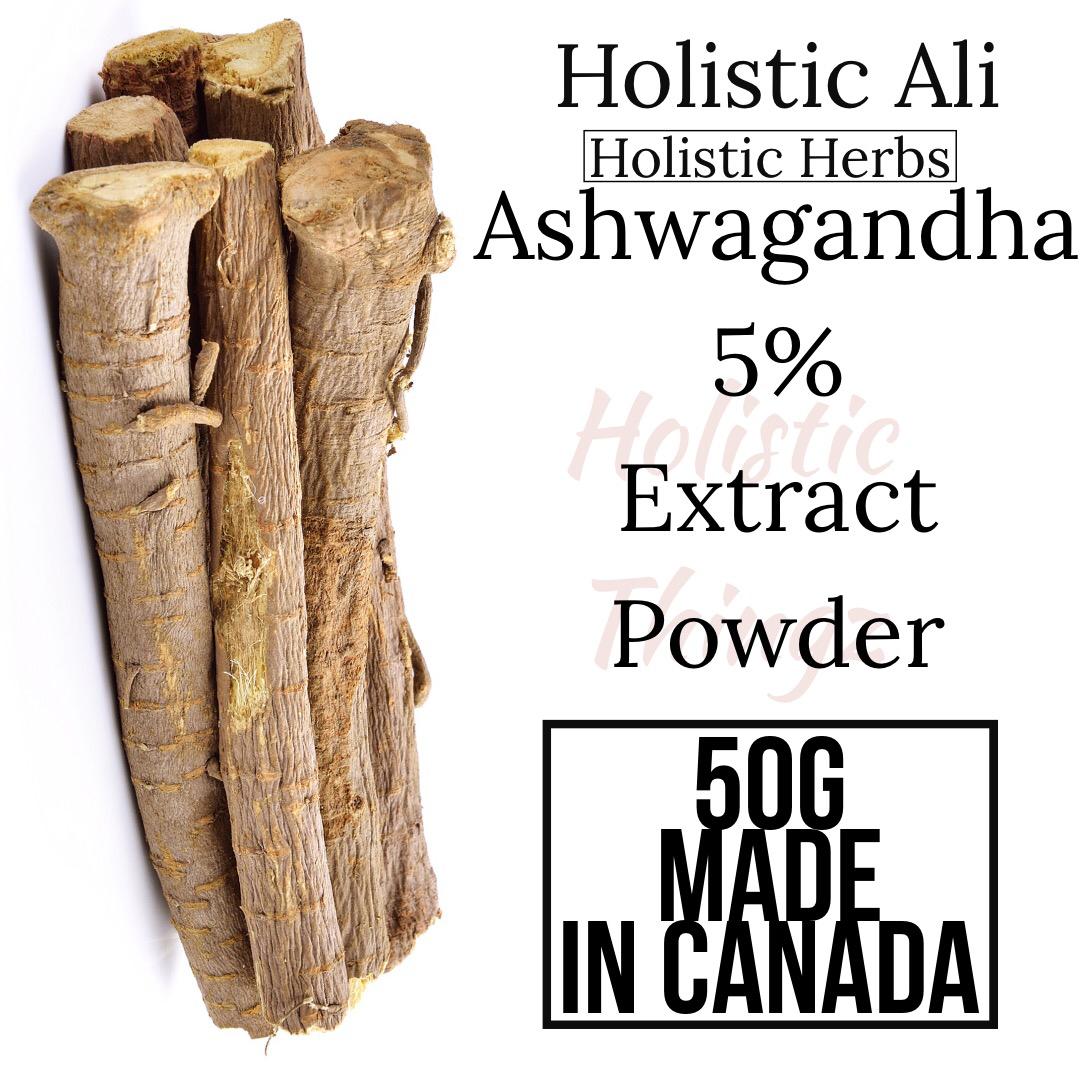 Ashwagandha 5% Extract Powder 50g
