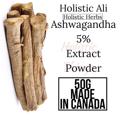 Ashwagandha 5% Extract Powder 50g