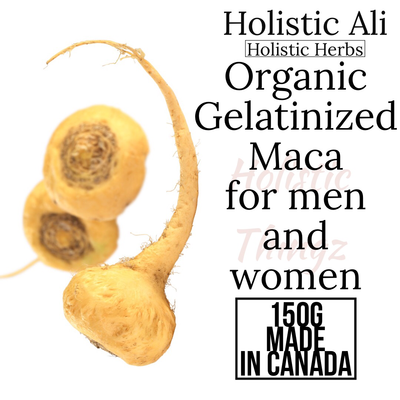 Organic Gelatinized Maca for Men and Women 150g