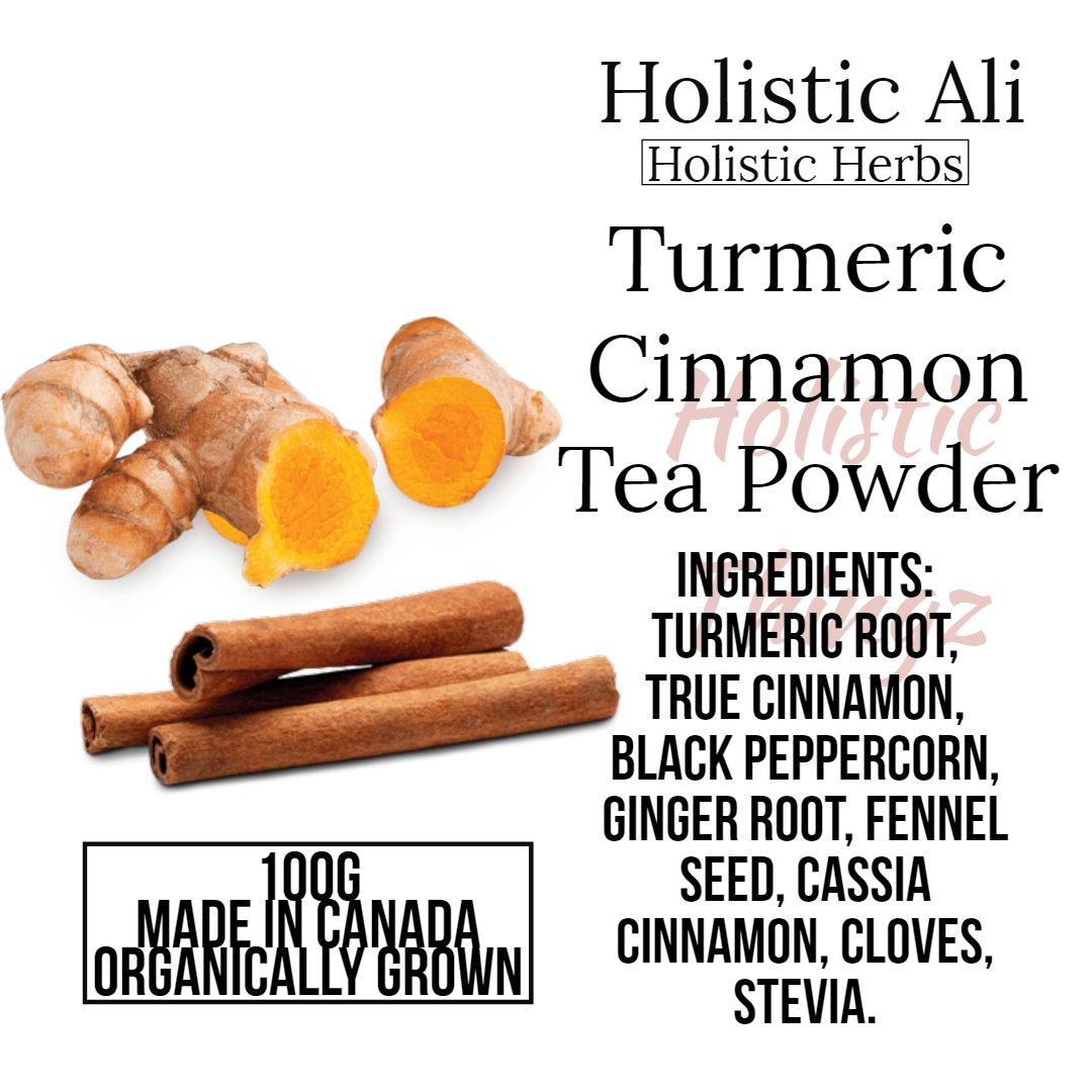 Golden Milk Turmeric Cinnamon Tea Powder
