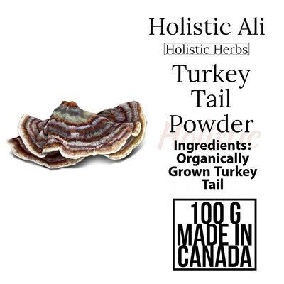 Turkey Tail, 100G Organically Grown