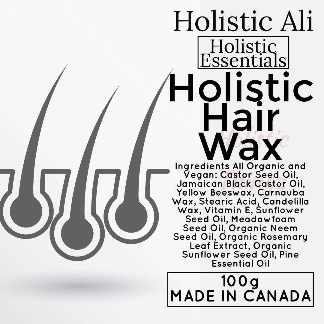 Holistic Hair Wax with Jamaican Black Castor Oil