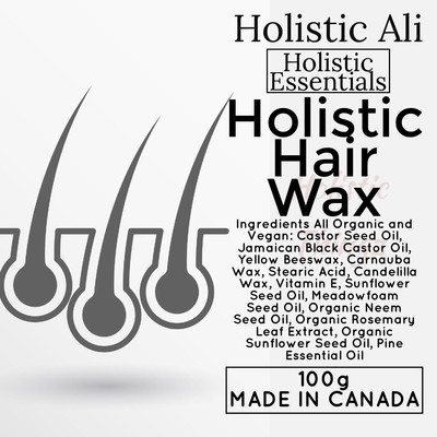 Holistic Hair Wax with Jamaican Black Castor Oil