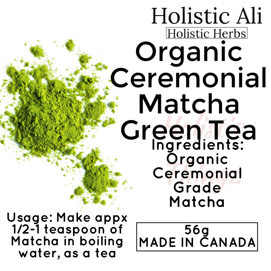 Organic Ceremonial Grade Matcha Green Tea Powder