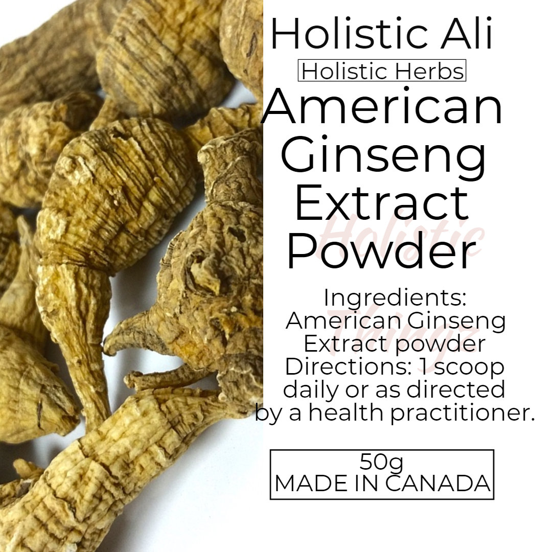 American Ginseng Extract Powder 50g