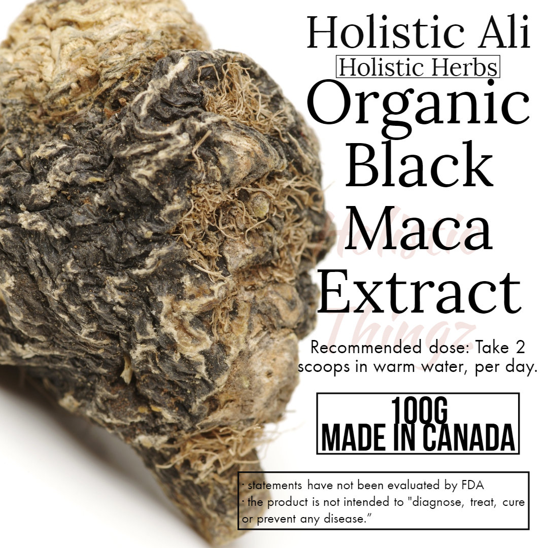 Black Maca Extract Powder 100g