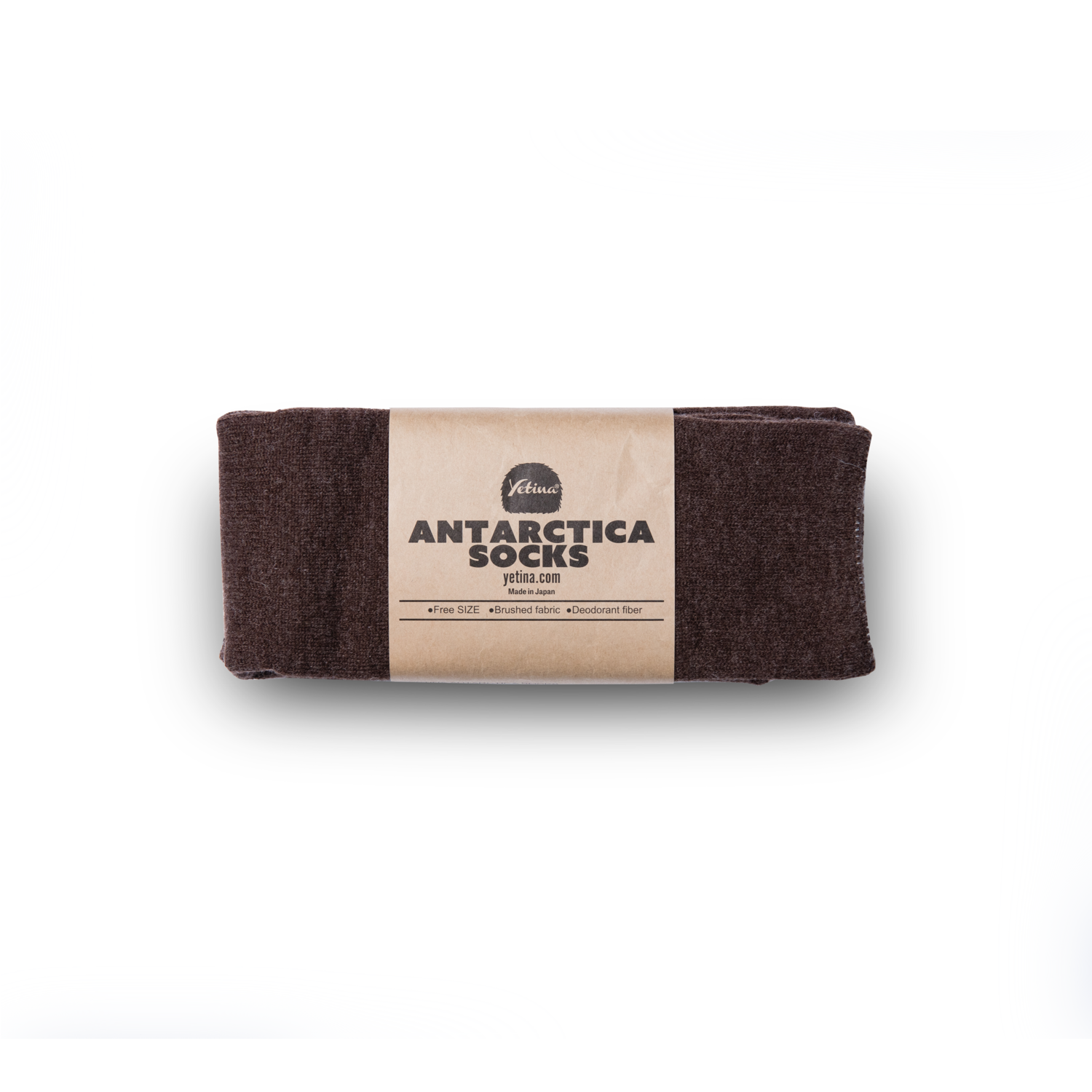 Antarctica Socks brown