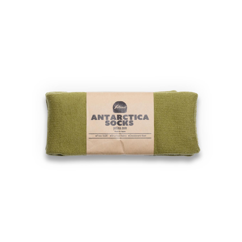 Antarctica Socks tea green