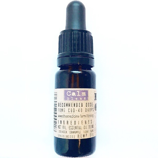 Calm Blend MCT Tincture 100mg 00018