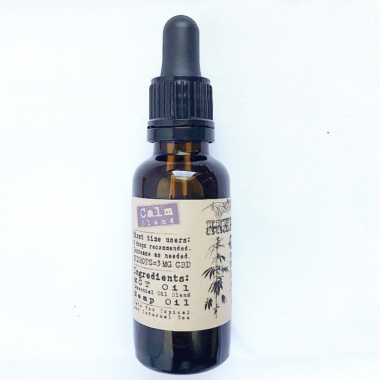 Calm Blend MCT Tincture 900mg