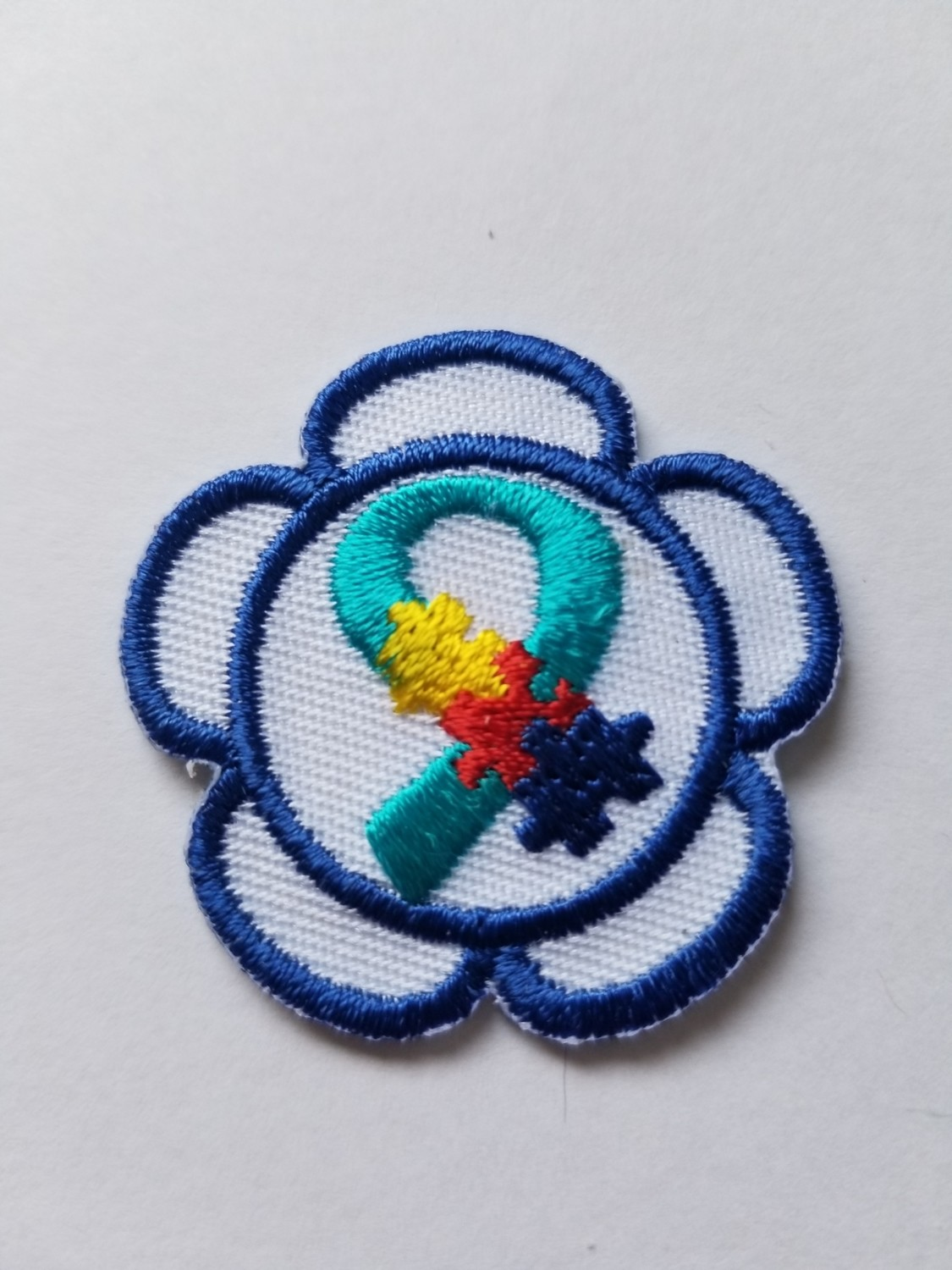 Autism Awareness Flower