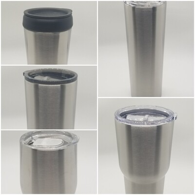 Decorated Steel Tumbler