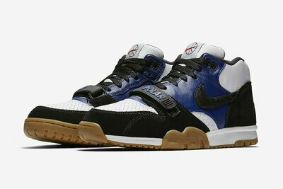 NIKE SB AIR TRAINER I BLACK/BLACK-DEEP ROYAL BLUE-SUMMIT WHITE
